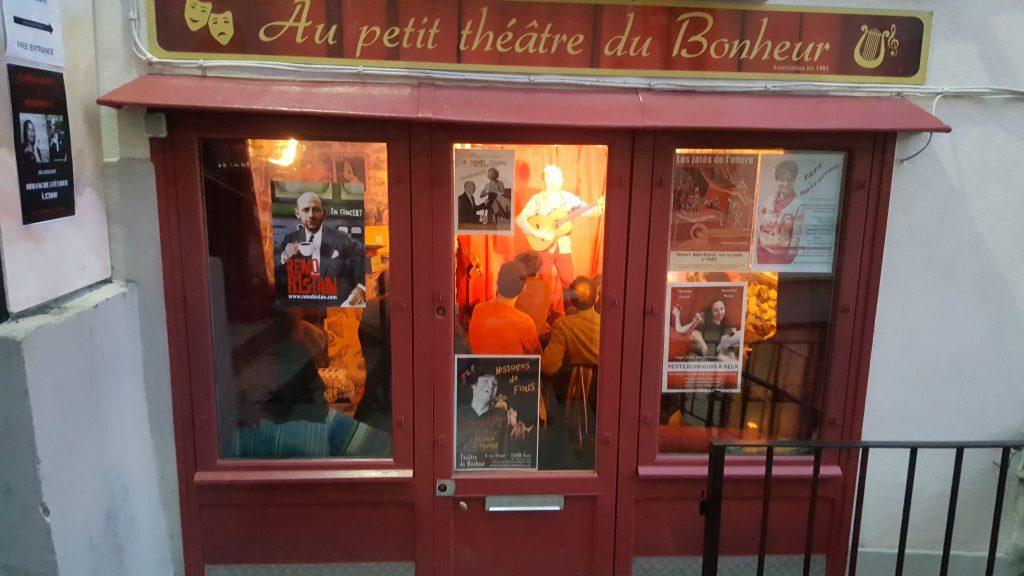 AU PETIT THÉÂTRE | 75018  Théâtre
