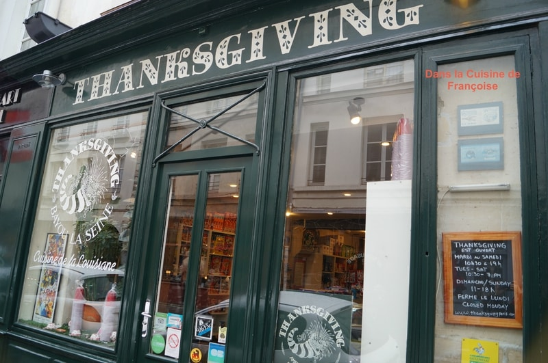 THANKSGIVING | 75004 Épicerie