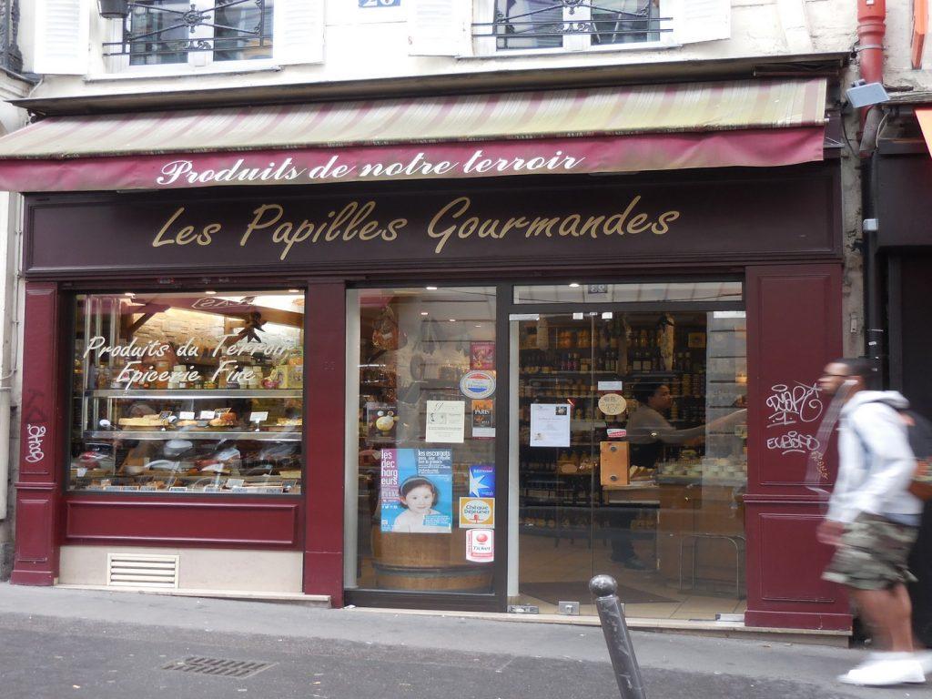 Les Papilles Gourmandes – 75009 Boutique