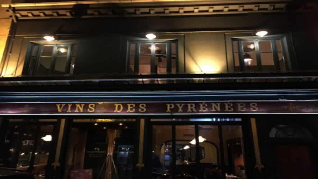 Aux Vins des Pyrénées | 75004 Restaurant