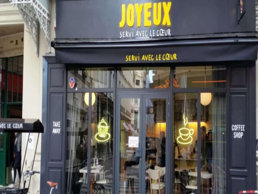 Joyeux | 75002 Café