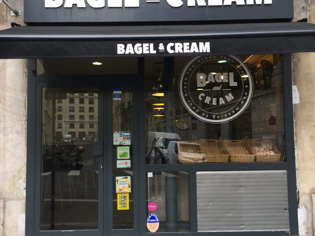 BAGEL AND CREAM | #MCBAparis09